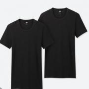 UNIQLO优衣库  SUPIMA 408871 圆领T恤 2件装