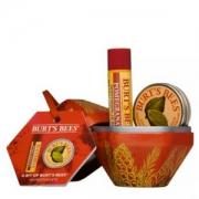 Burt's Bees 小蜜蜂 石榴礼品套装(唇膏 4.25g+指甲修护霜8.5g)Prime会员凑单免费直邮含税