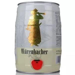 Wurenbacher 瓦伦丁 小麦啤酒  5L 单桶 *2件 +凑单品