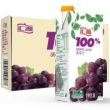 Huiyuan 汇源 100%葡萄汁 青春版 1L*5盒折24.45元(49.9,2件5折)