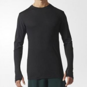 adidas 阿迪达斯 训练 CE9984 男子长袖T恤  *3件