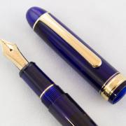 白金(PLATINUM)  3776 CENTURY 14K金尖钢笔 F尖