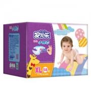 Anerle 安儿乐 薄薄小轻芯 婴儿纸尿裤 XL58片 *8件460.4元包邮(合57.55元/件)