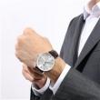 Edox 依度 Les Vauberts Day Date Automatic 系列 银色圆盘男士机械腕表 83010-3B-AIN$299(约2065元)