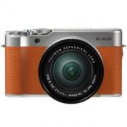 FUJIFILM 富士 X-A10(16-50mm f/3.5-5.6)APS-C画幅无反相机套机 棕色 1379元包邮1379元包邮