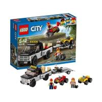 LEGO 乐高 城市系列 60148 全地形车赛车队