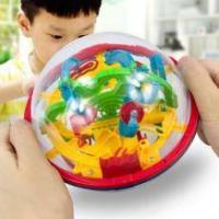 益智玩具:爱可优 3D立体冲关迷宫球