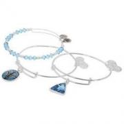 ALEX AND ANI 蓝色莲花吊坠+珠串手环三件套 299元包直邮(需用码)