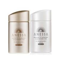 ANESSA 安热沙 敏感肌粉金瓶防晒霜 60ml+温和亲肤防晒霜 60ml