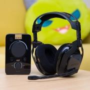 Logitech 罗技 Astro A40 游戏耳麦 + MixAmp 音频控制器开箱试用