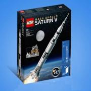 LEGO 乐高 IDEAS系列 美国宇航局 阿波罗土星五号积木 21309 送猪年拼砌盒、红包、对联