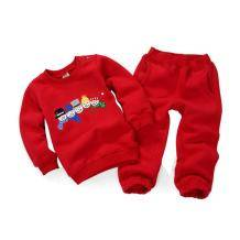 Minizone 宝宝长袖圆领运动抓绒卫衣套装 *4件