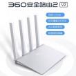 360 V2 安全路由器 2.4G/5G双频1200M69元包邮(需领券)