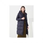 GOLDFARM 高梵 2018新款 韩版修身加厚冬季长款保暖鸭绒女装外套 299元包邮299元包邮