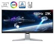 BenQ 明基  EX3501R 35英寸显示器(21:9、1800R、2K、100Hz、FreeSync) 4999元包邮4999元包邮