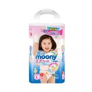 MOONY  尤妮佳 女婴用拉拉裤 L44片 *6件