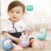 米宝兔 婴儿早教玩具不倒翁