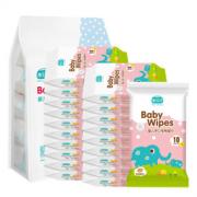 水分子 婴儿专用手口湿巾 10抽*24包 18.8元包邮(28.8-10)