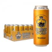 BURGGOLD 金城堡 小麦啤酒 500ml 24听 *3件