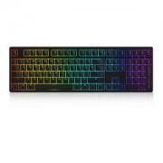 AKKO Ducky 3108S RGB幻彩背光机械键盘 108键 黑色 银轴
