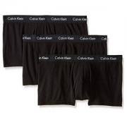 M码,Calvin Klein 卡尔文·克莱恩 男士弹力棉四角内裤 3条装  Prime会员凑单免费直邮