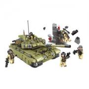 星堡积木 军事系列 霸虎坦克