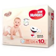 HUGGIES 好奇 铂金装纸尿裤M136片x2包券后306元包邮()