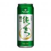 珠江啤酒9度珠江纯生500ml 经典纯生单罐装