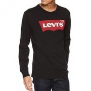 李维斯 Levis 经典大Logo印花长袖T恤prime会员到手约232元