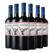 MONTES 蒙特斯 经典梅洛 红葡萄酒 750ml*6瓶 *2件