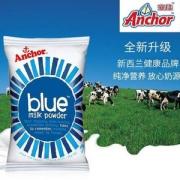 新西兰进口,Anchor 安佳 成人全脂奶粉1kg47.59元(双重优惠)