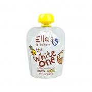 Ella's kitchen 艾拉的厨房 有机白色香蕉苹果菠萝椰汁混合果泥 90g *11件