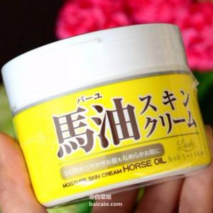 LOSHI 北海道马油 保湿补水万能霜 220g*3罐 ¥58.76含税包邮