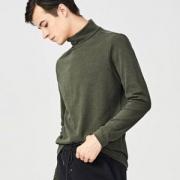 优衣库制造商,Maxwin 马威 男士纯色保暖高领打底针织衫 多色49包邮(需领券)