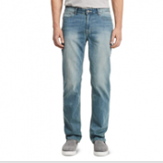 Calvin Klein 男士休闲直筒牛仔裤