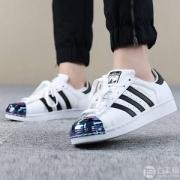 adidas  SUPERSTAR MT 男女三叶草金属贝壳头休闲鞋 2色