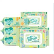 碧c 婴儿手口专用湿巾 80抽 5包装 13.99元包邮(18.99-5)