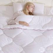 英国顶级寝具品牌 Downland 精梳长绒棉面料 Thermo远红外纤维被200×230cm史低415元包邮(双重优惠)