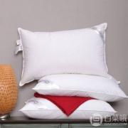 Downia 杜维雅 丽思卡尔顿定制款 90%白鹅绒枕 填充物1100克 2个 ¥678包邮339元/个
