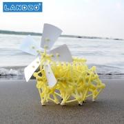 LANDZO 蓝宙 拼装益智风力仿生兽机器人模型玩具