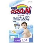GOO.N 大王 维E系列 婴儿纸尿裤 L54片