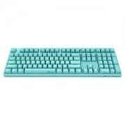 Akko 艾酷 Ducky 3108 机械键盘 薄荷蓝(108键、Cherry黑轴、PBT、侧刻)