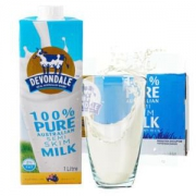 Devondale 德运  部分脱脂牛奶 1L*10 整箱装 *3件