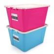 EKOA 亿高 塑料收纳箱 55L 2个 *2件106.4元包邮(双重优惠)