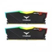 Team 十铨 DELTA RGB DDR4 3000 16G(8G×2)套装 台式机内存 黑色