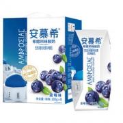伊利 安慕希希腊风味常温酸奶蓝莓味205g*8盒*6件 149.4元(需用券,合24.9元/件)