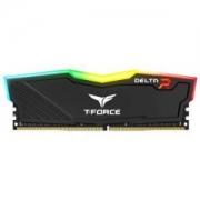Team 十铨 DELTA RGB系列 DDR4 3000 台式机内存 黑色