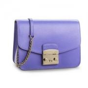 Furla 芙拉 METROPOLIS S系列 意大利产 女士真皮方块包+凑单品