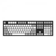 Akko 艾酷 Ducky One 机械键盘 复古灰白(108键、Cherry茶轴、PBT热升华)