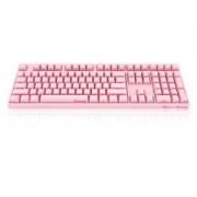 Akko 艾酷 Ducky 3108 机械键盘(粉色、PBT、侧刻、Cherry红轴)